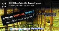 2020 NanoScientific Forum Europe on Scanning Probe Microscopy (SPM) goes VIRTUAL! Same program! Same date!