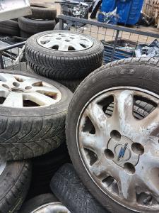 Alu Reifen schrott.