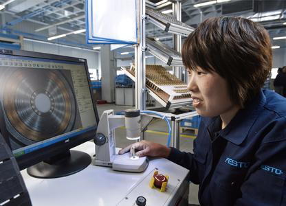 Gleiche Qualität, Lieferfähigkeit und Service, wie in Europa: Festo Werk in Jinan