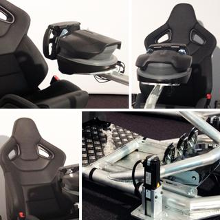 IMAGE Virtual Racing Seat No.1 – Enjoy 4D Simulation in perfection at the Gamescom Exhibition in Cologne/Germany (16.-19.8.2012)