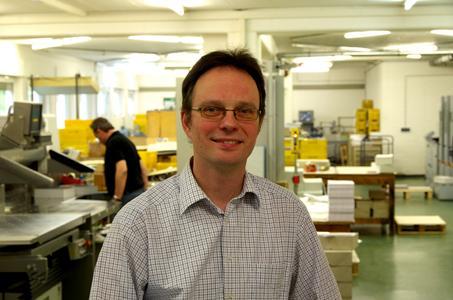 Klaus Volmer, der Kaufmännische Betriebsleiter von ICS, hatte die Federführung beim PSO-Zertifizierungsprojekt mit der SONORA XP Platte