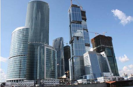 Moscow City, Mega building project in Russia Simon RWA Systeme GmbH supplies drives technology for smoke vents and window automation