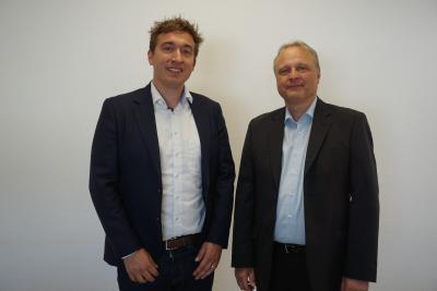 links: Christoph Schmitt, rechts: Stefan Kaiser