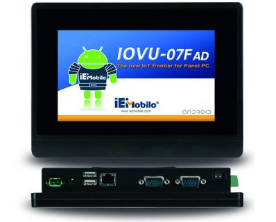 "IOVU-07F-AD - 7"" RISC-based Panel PC"