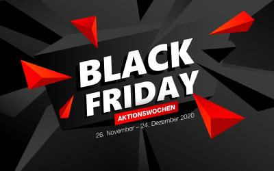 Black Friday: Aktionswochen bei TAP.DE