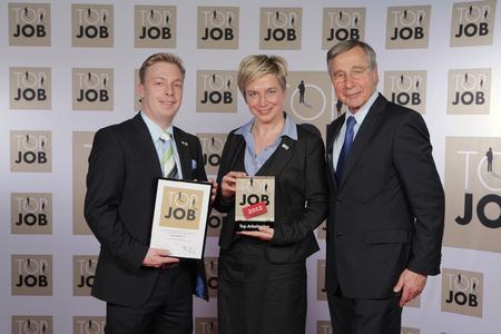 Ehrung, Auszeichnung und Preisübergabe durch Wirtschaftsminister ...