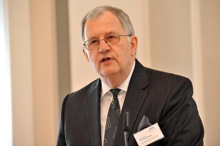 Der Träger des diesjährigen AMW-Award Bernd-Artin Wessels (Foto: Michael Bahlo)