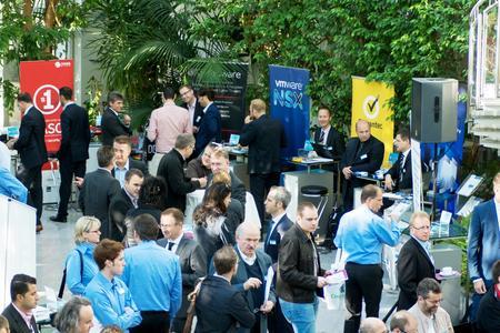 Die Partnerausstellung von über 25 führenden IT-Security-Herstellern bot Gelegenheit, Informationen zu vertiefen und konkrete Szenarien zu besprechen