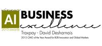 2015 CMO of the Year Award for B2B Innovation and Global Markets