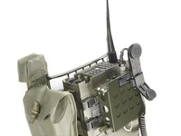 Secure tactical radio for peacekeeping forces