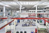 Produktionshalle Elektror airsystems Waghäusel