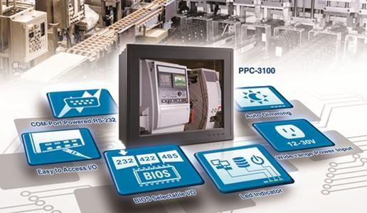 Umweltfreundlichere Gerätesteuerung mit dem neuesten PPC-3100 von Advantech