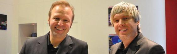 Holger Steffentorweihen und Tom Koperek