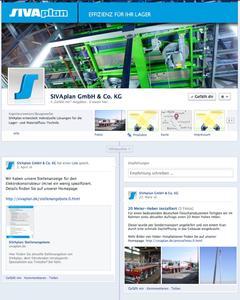 Lagerlogistik in den sozialen Medien: SIVAplan goes Facebook