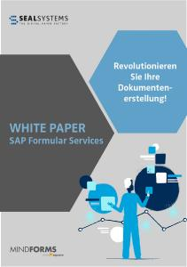 Screenshot White Paper Formular Services