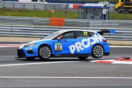 Seit 2016 unterstützt PROCAD das Team HP Racing der ADAC TCR Germany Touring Car Championship. Abb. Procad