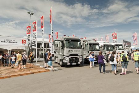 Vom 18. – 20. Juli präsentierte Renault Trucks seine neue Fernverkehrsbaureihe beim Truck Grand Prix am Nürburgring