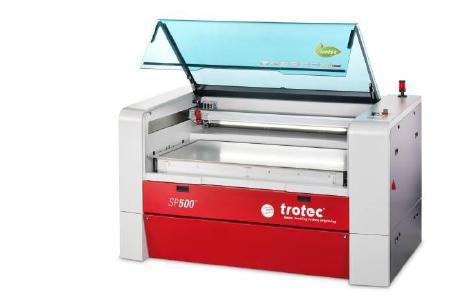 SP500 – Large Format Laser Cutter (Quelle: Trotec)