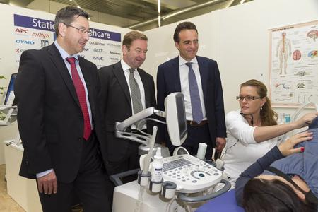 IM.TOP 2012 Messerundgang Management Bereich Healthcare