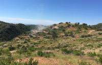 Explorationsarbeiten auf Cerro Caliche; Foto: Sonoro Metals