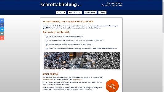 Schrottabholung in Duisburg
