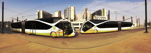 Fahrgastbetrieb in Saudi Arabien: Zwölf Trolleybusse von Viseon und Vossloh Kiepe in Riad in Betrieb genommen