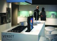 VENSET TS600 - elektrischer Einbau TV Lift mit Hub