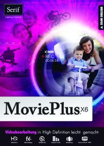 Bedienungsfreundliches Tool für eigene Videos: Serif MoviePlus x6