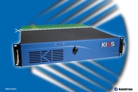 Silent Industial Server KISS 2U Short