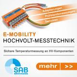 Hochvolt Messtechnik für E-mobility