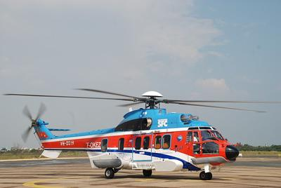 Vietnam's Southern Service Flight Company orders a third Eurocopter EC225 helicopter for offshore oil and gas operations