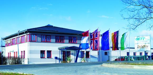 Hauptgebäude der GETT Gerätetechnik GmbH in Treuen