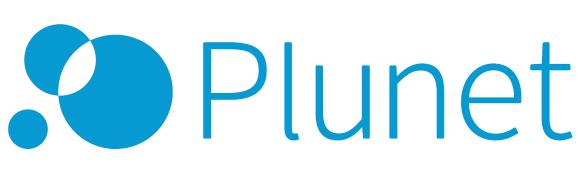 2015 Plunet translation management systems Logo blue CMYK