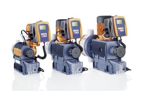 Sigma Motor-Membrandosierpumpen, Steuerungstyp, bieten ein hohes Maß an Bedienkomfort, Sicherheit und Effizienz