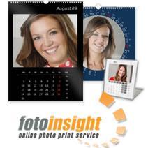 Fotokalender auf Fotopapier