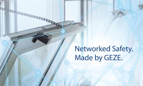 GEZE is showcasing its system expertise in building networking