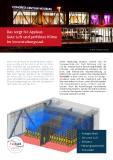 Gutes Raumklima im Veranstaltungsraum mittels virtueller Überprüfung der Sonnenschutzmaßnahmen am Beispiel des Congress Centrums Würzburgs.