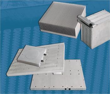 Für die neuen Kühlplatten vereint WEBRA neu entwickelte, moderne Extrusionsprofile mit der sicheren und fortschrittlichen Rührreibschweißtechnologie.
