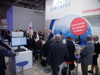 Bei einem Pressegespräch im Rahmen der Fachmesse E-world haben die Stadtwerke Schwäbisch Hall den Einsatz der Venios Energy Platform vorgestellt.