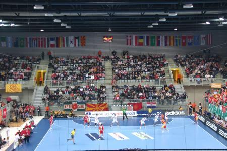 Innenansicht Arena Varazdin MAK TUN 2002 / Foto: Godar Professional Photography