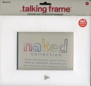 Dinotalk Sprechender Rahmen neutral für individuelle Gestaltung in Verkaufsverpackung Blister