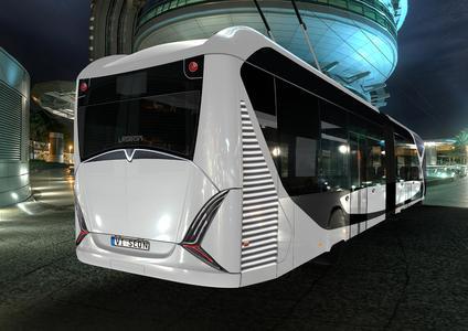 Eine attraktive Gestaltung gehört ebenso zu den VISEON-Trolleybussen wie eine hochwertige technische Ausstattung