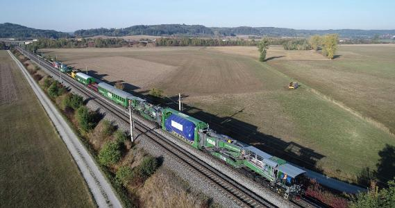 Spedition Kübler: Strong expansion in the rail division