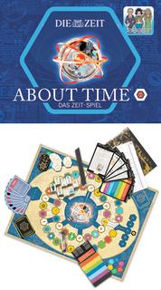 About Time ist für 2-20 Spieler oder Teams ab 14 Jahren geeignet. Erhältlich zu 39,95 EUR im Handel und in Online Shops.
