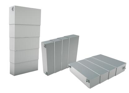KABELSCHLEPP entwickelt und fertigt kundenspezifische Führungsbahnschutzsysteme für verschiedene Maschinenachsen