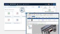 PROOM bietet Cloud-basierte Projekträume für den gesteuerten Austausch von technischen Dateien mit externen Partner, Kunden, Lieferanten und Projektbeteiligten. Quelle: PROCAD GmbH & Co. KG