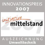 """Kompost-Sauerstoffmesssystem erhält Auszeichnung für """"Innovationspreis 2007 Industrie"""""""