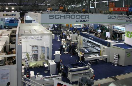 Messestand der Schröder Group auf der Blechexpo 2019