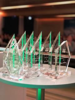 Avnet Silica wins award for fastest growing distributor in the EMEA region from STMicroelectronics