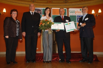 preisverleihung saxplus 2009